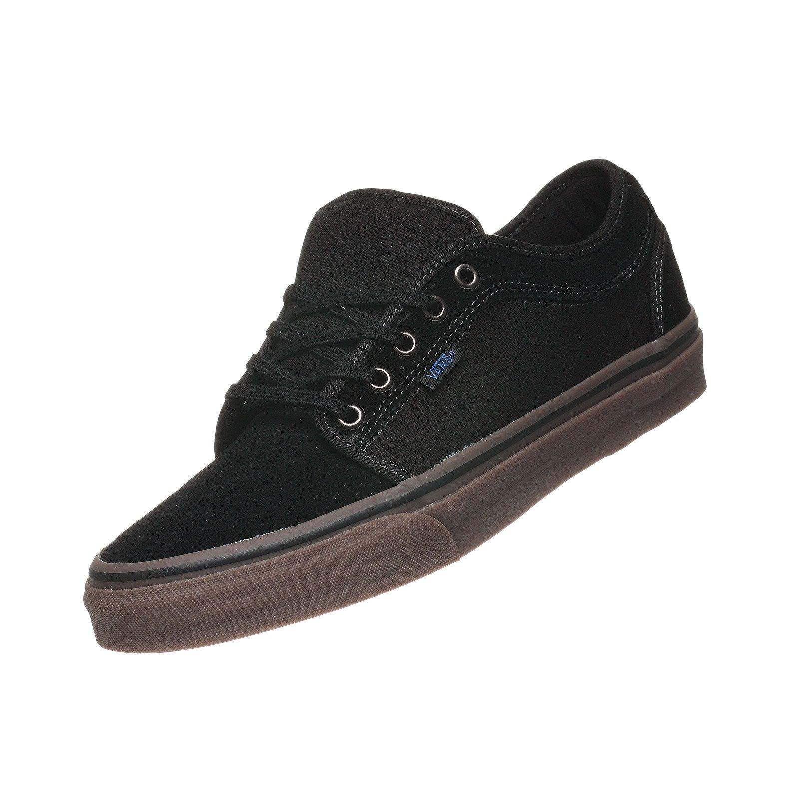 vans chukka low black gum