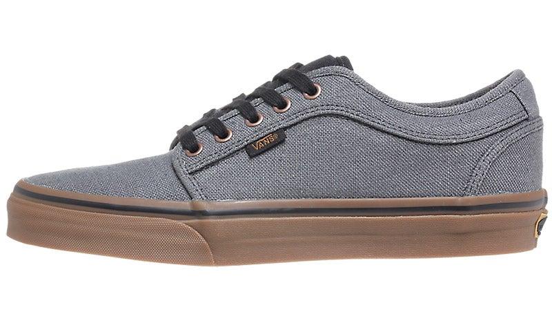 gray chukka low vans