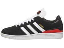b3375075691ae2 Adidas Busenitz Pro Shoes Black White Scarlet