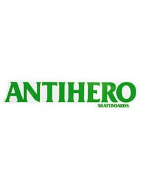6161a2652383d Anti Hero Long Black Hero Sticker MD Green