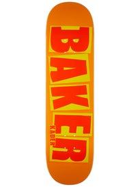 3d2c8498 Baker Kader Brand Name Orange Deck 8.5 x 32