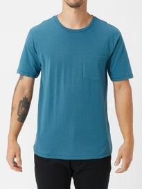 63ff1a469f138 Brixton Basic Pocket T-Shirt. Blue. New