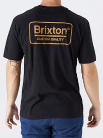 b8c4ea5c056 Brixton Palmer Premium T-Shirt. Black