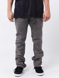 336a4d00 Brixton Reserve Chino Pants Grey Plaid