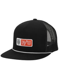 Brixton x Independent Turnpike High Profile Mesh Hat. Black e6fe4b665eca