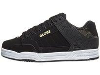 d2f56f904ee Globe Tilt Shoes Black Camo Knit Slime