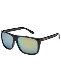 36083825ef Happy Hour Casinos Sunglasses Black Gold Mirror