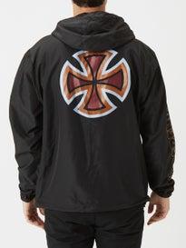 52ffa6b56413 Independent B C Primary Hooded Windbreaker Jacket. Black