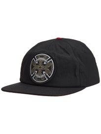 e483567f38f Independent Cab Flourish Snapback Hat. Black. Red