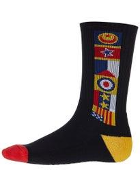 94f5420cb4494 Lakai Chocolate Flags Crew Socks