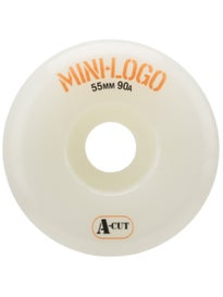 Black MINI LOGO Wheels C-Cut 51mm 101A Skateboard Wheels