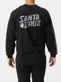 cfb036e6 Santa Cruz Hand Stamp Longsleeve T-Shirt