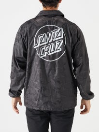 f9d5c40fe Santa Cruz Opus Dot Coaches Windbreaker Jacket