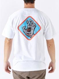 Santa Cruz Screaming Hand Badge T-Shirt