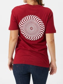 2534017fc327a7 Spitfire Girls Classic Swirl T-Shirt