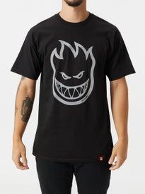 7c28275e1631a8 Spitfire Bighead Hi-Vis T-Shirt. Black