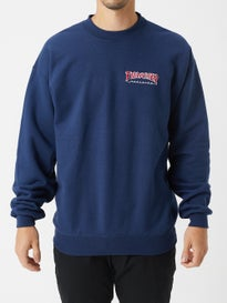 49c7fbbef13 Thrasher Embroidered Outlined Crewneck Sweatshirt
