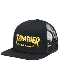 8043e767691 Thrasher Flame Rope Snapback Hat