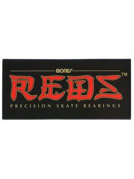 Hard Luck Six Ball Speed Bearings Black Single Set Skateboarding Bearings