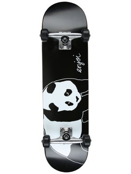 """Element Section Complete Skateboard 8.0/"""" Black//White//Red"""