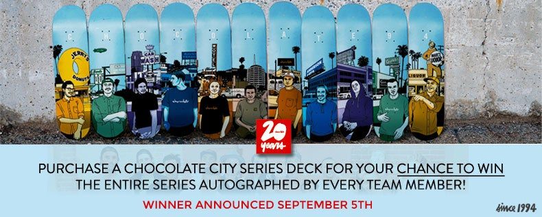 Chocolate Skateboard Autograph Series