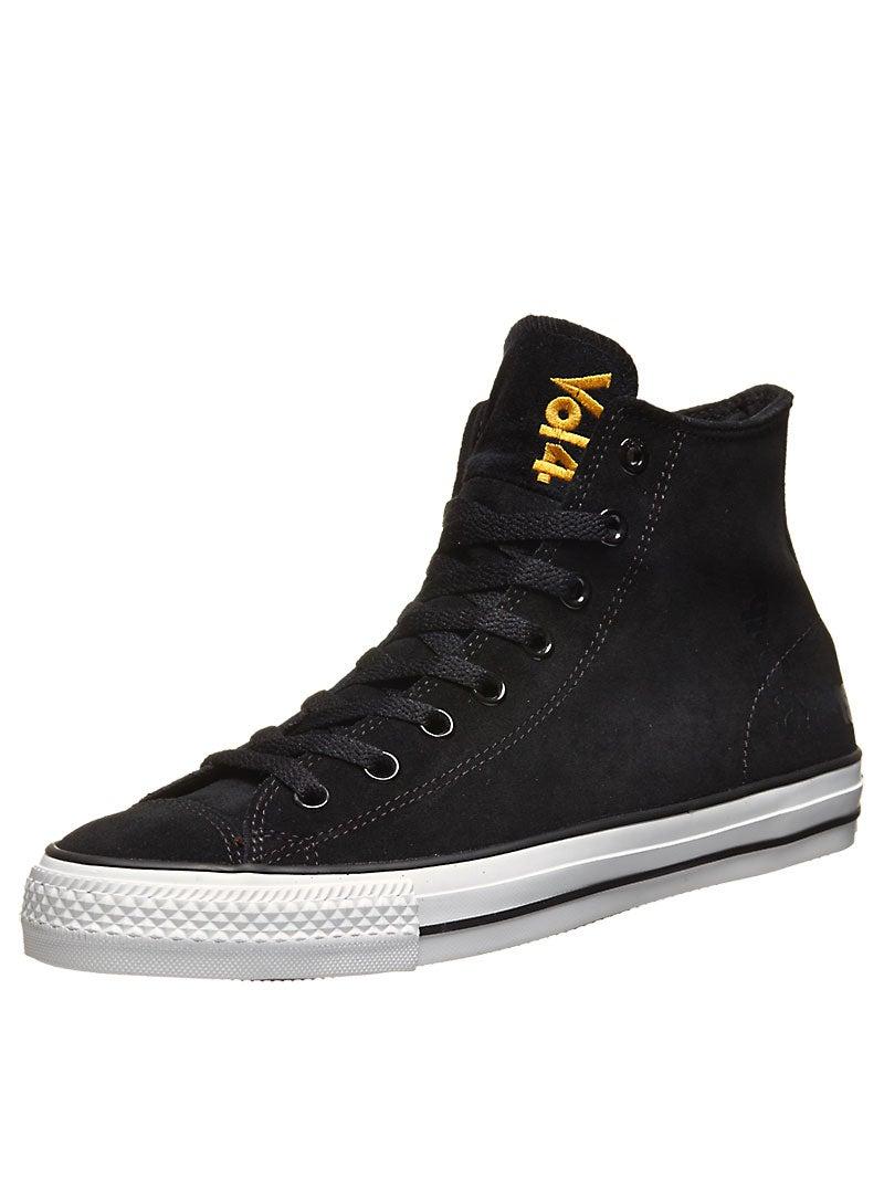 converse x black sabbath ctas pro skate hi shoes black