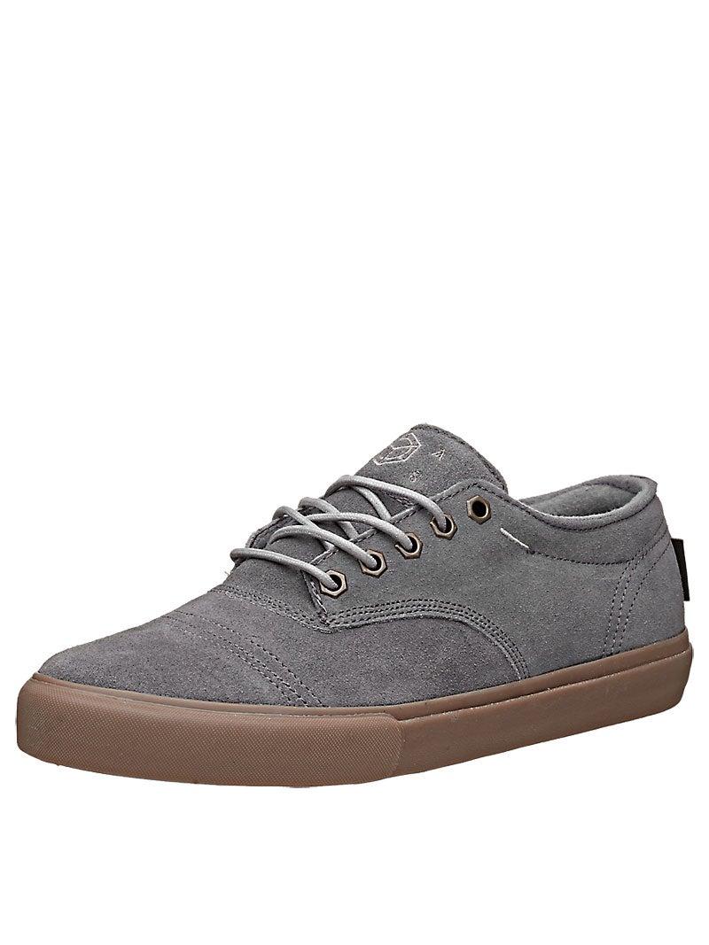 Home Skateboard Shoes Dekline Shoes Dekline Jaws Shoes Mid Grey/Gum