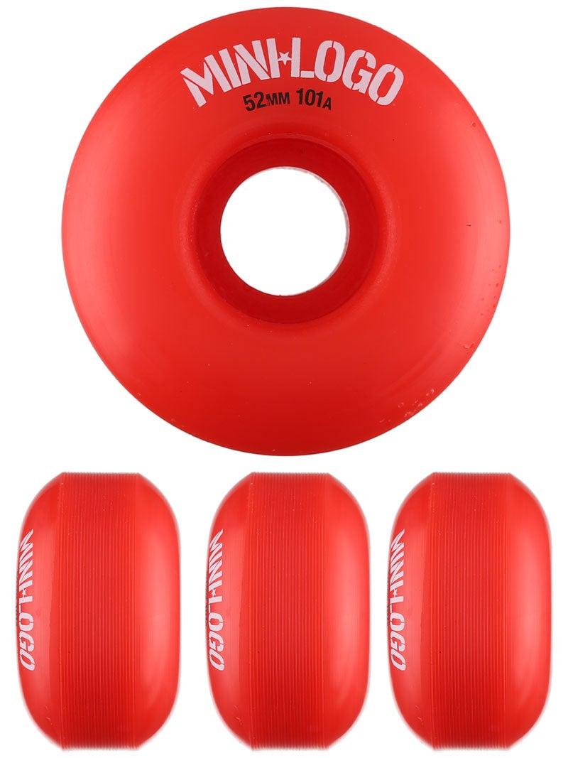 Mini Logo C-Cut Red 101a Wheels