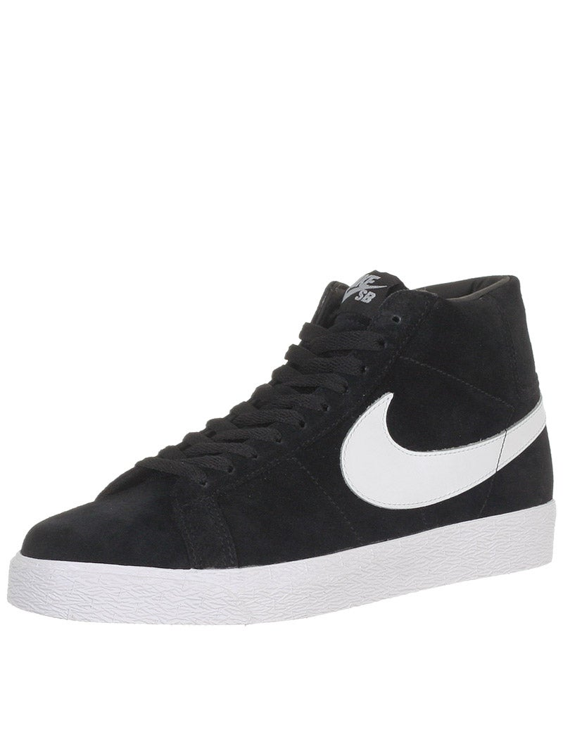 nike sb blazer shoes black white