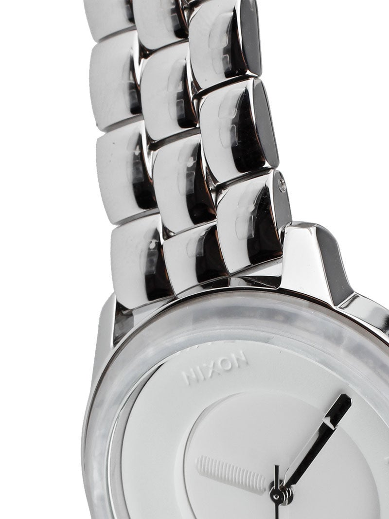 Home Watches Nixon Watches Nixon The Divvy Girls Watch/ White Granite