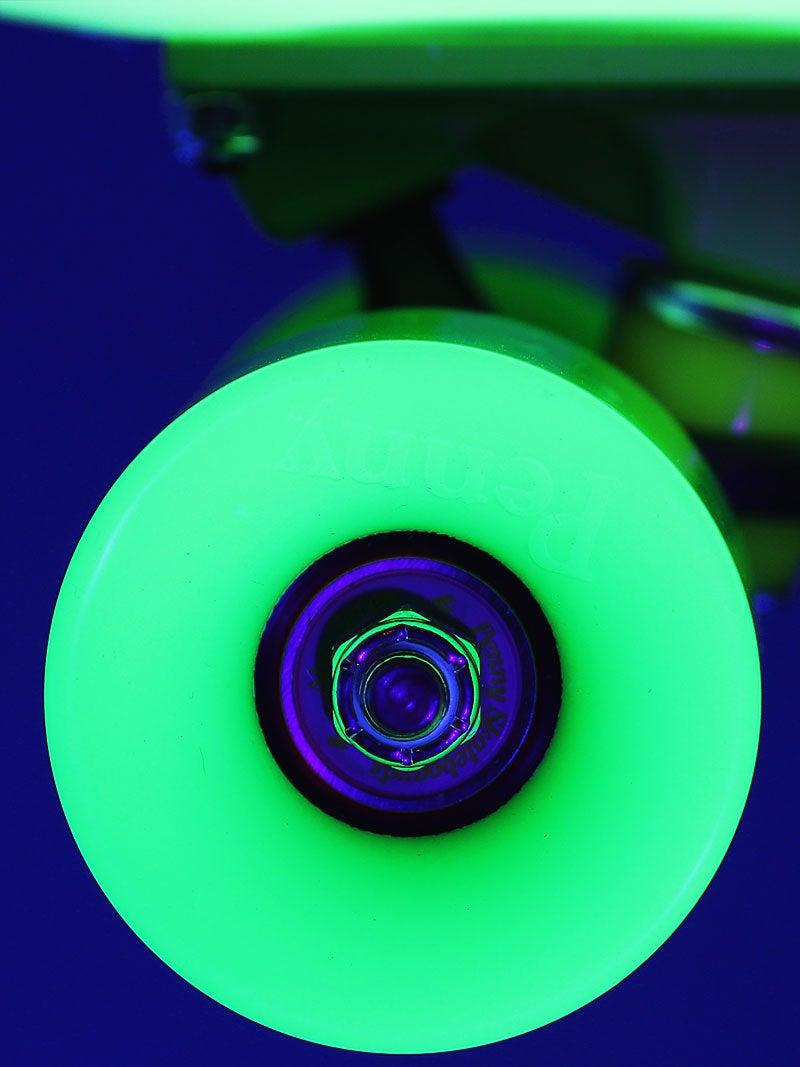 """Penny Nickel 27"""" Glow/Black/Green Complete Skateboard"""