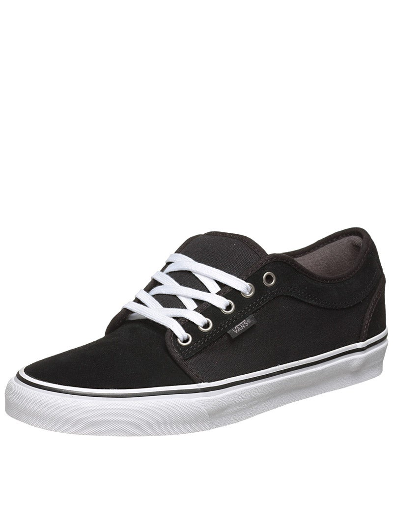 vans chukka low shoes black pewter white