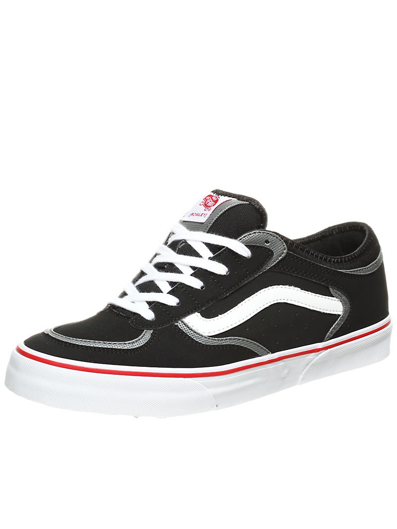 Home Skateboard Shoes Vans Shoes Vans Rowley Pro Shoes Black/White/Red