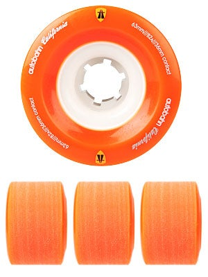 Autobahn California 82a Orange Wheels