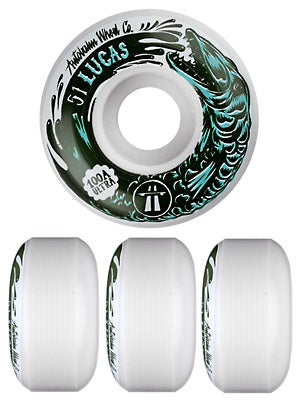 Autobahn Puig x Swanski 100a Wheels 51mm