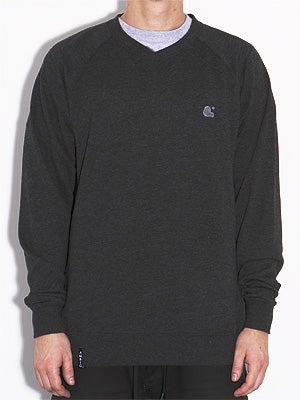Ambig Bubble Sweatshirt Charcoal SM