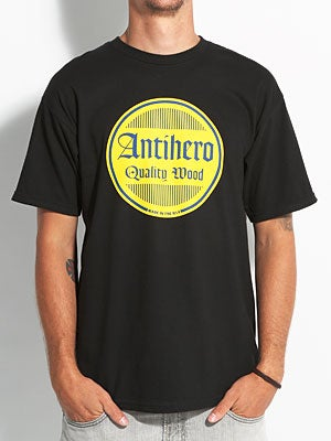 Anti Hero Quality Circle Tee Black SM