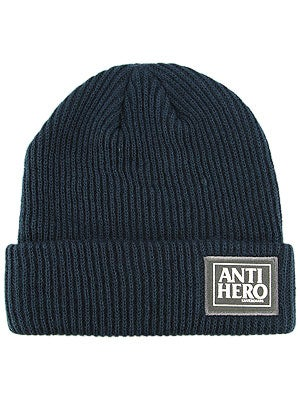 Anti Hero Reserve Cuff Beanie Navy One Size