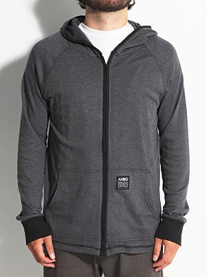 Ambig Jameson Hooded Knit Black MD