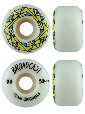 Broadcast Team Originals 99a Wheels 50mm