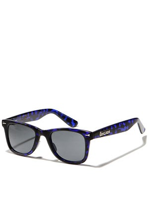 Brigada P-Rod Sunglasses Navy Tortoise w/ Black Lens