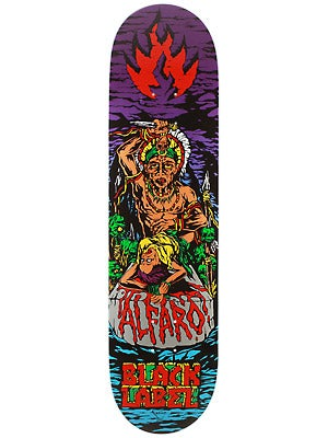 Black Label Alfaro Suffer Deck  8.12 x 31.62