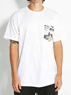 Bohnam Teepee Pocket Tee White SM