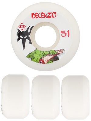 Bones STF Decenzo Dragon V5 Wheels 51mm