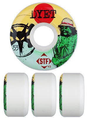 Bones STF Dyet Swamp Thing V2 Wheels