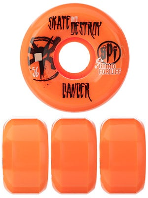 Bones SPF GFL Destroy Cancer Orange Wheels