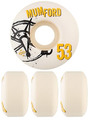 Bones STF Mumford Numbers V1 Wheels