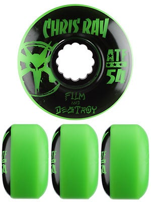 Bones ATF Ray Destroy Green Wheels