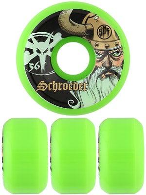 Bones SPF Schroeder Odin Green Wheels