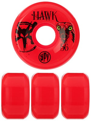 Bones SPF Hawk Eye Red Wheels